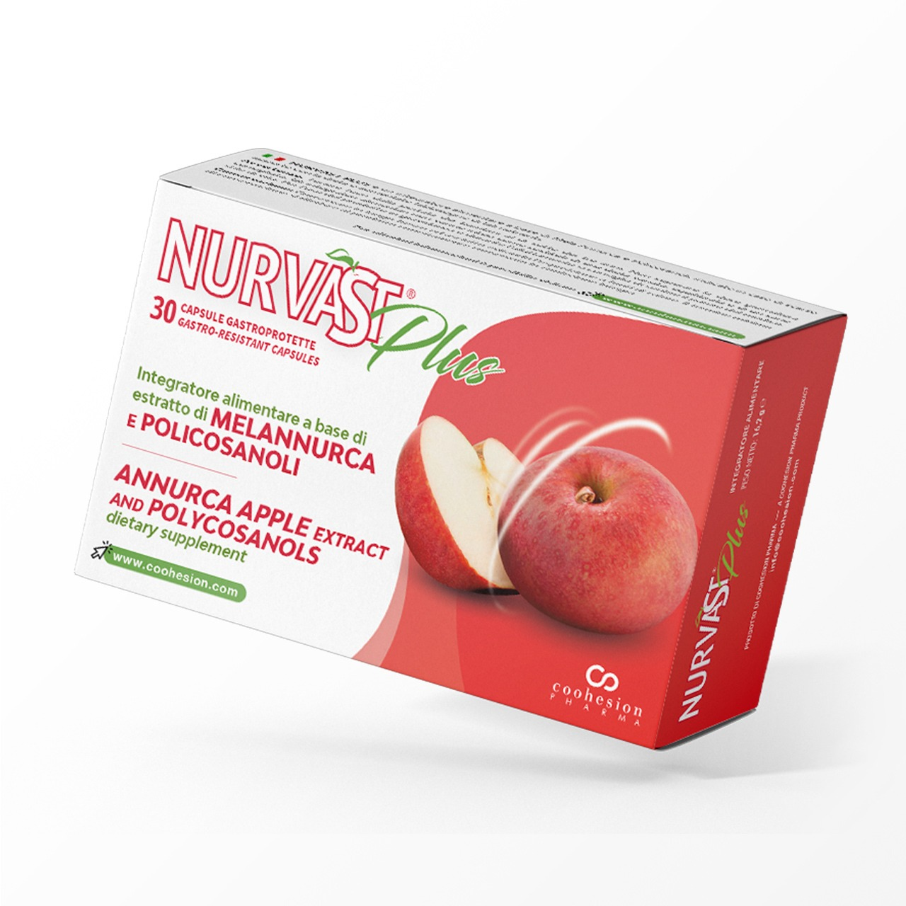 Nurvast Plus - Annurca apple extract and Polycosanols based dietary supplement