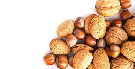 frutta secca noci nocciole mandorle castagne