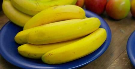 chiosco banane primo piano
