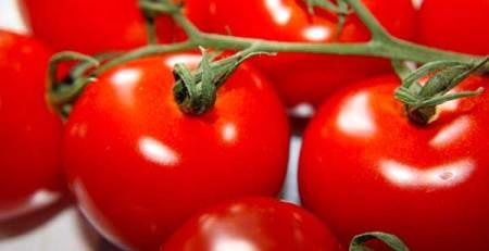 pomodori rossi primo piano