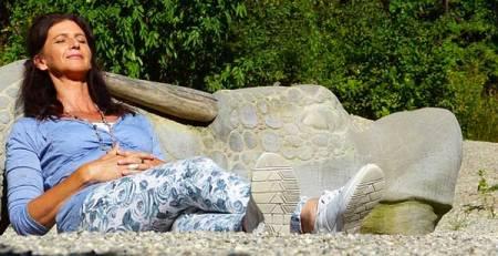 donna relax aria aperta