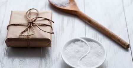 sale cucchiaio legno pacchetto regalo