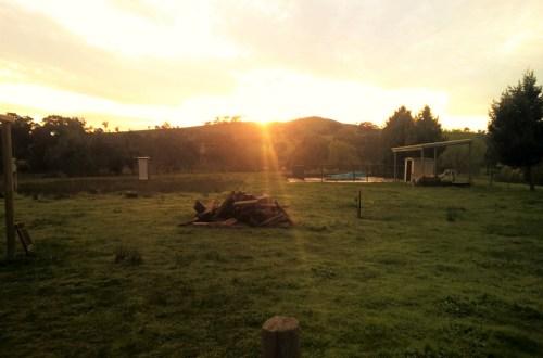 Sunrise at Cooinda
