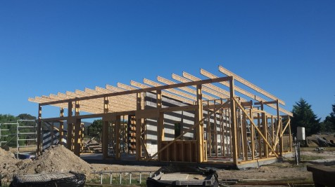 All joists are up and secured!