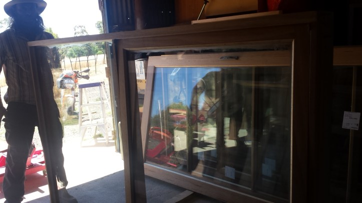 The last window to be varnished