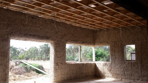 View of the kitchen from inside
