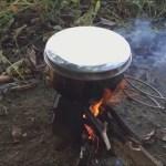 コーラ煮込み角煮!!ソロキャンプ BBQ料理
