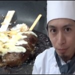 【肉巻きおにぎり】誰でも簡単フライパン料理♪