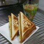 ホットサンド♡アウトドア用品 コールマンホットサンドイッチクッカー 料理 自宅でキャンプ気分