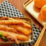 【お弁当作り】エビカツ丼弁当の作り方〜How to make Japanese bento lunch box〜