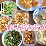 【料理】作りおきおかずをつくる!