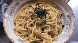 【納豆パスタ】中年おっさんでも作れる【簡単料理】