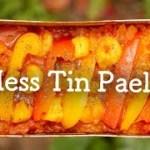 【メスティン】簡単パエリアの作り方[ソロキャンプ料理][アウトドア] Mess Tin Paella solo camping recipe