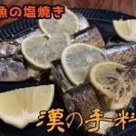 【一人暮らしの料理】秋刀魚の塩焼き【フライパンで】