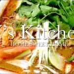 【男の料理】パクチーたっぷりトムヤムラーメン
