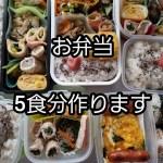 料理動画 46 お弁当 朝詰めるだけの楽チンお弁当 5食分作ります