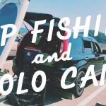【SUPで釣りとソロキャンプ】vlog#12