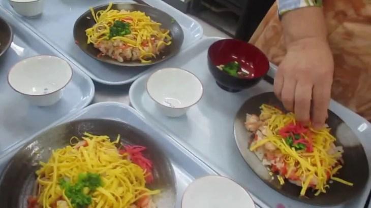 散らし寿司と菜の花お吸い物:男の料理 Part.3