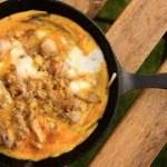 【スキレット料理】親子丼の作り方  [ソロキャンプ料理]