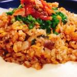 【ザ・最強の男飯】こんな簡単で旨い料理ないよねw『絶品 あふれるチーズの豚キムチチャーハン』Pork & Kimchi Fried Rice with Melting Cheese