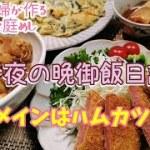 料理動画#100★ハムカツと豚バラ大根