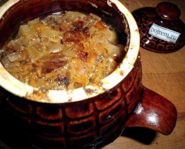 Свинина в горшочках с картошкой и грибами в духовке рецепт ...