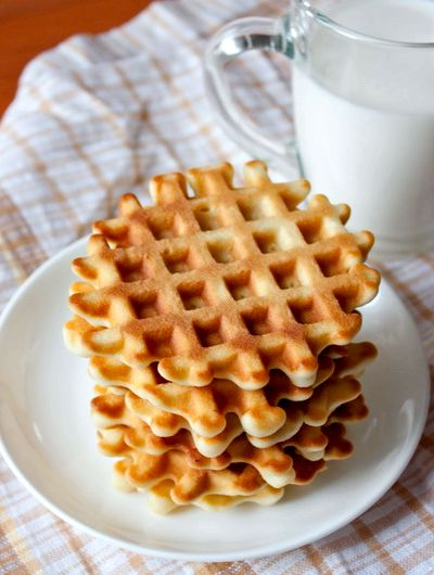 Вафли в вафельнице рецепт с фото пошагово мягкие