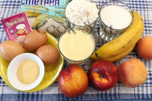Заливной торт с фруктами - Пошаговый рецепт с фото | Десерты