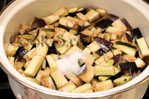 Баклажаны с чесноком и укропом на зиму - Пошаговый рецепт ...