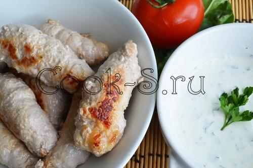 Мясные пальчики с грибами - Пошаговый рецепт с фото ...