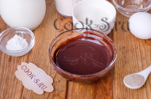 Шоколадные панкейки – рецепт с фото пошагово