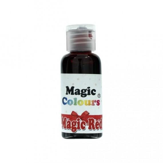 colorant alimentaire gel rouge magic colours