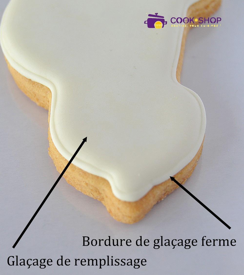 comment glacer un biscuit au glacage
