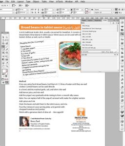 screenshot recipe card