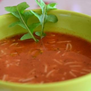 Mom's tomato soup (Доматената супичка на мама)