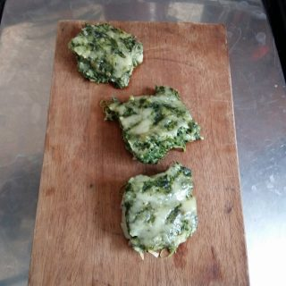Fritada (Spinach oven bake)