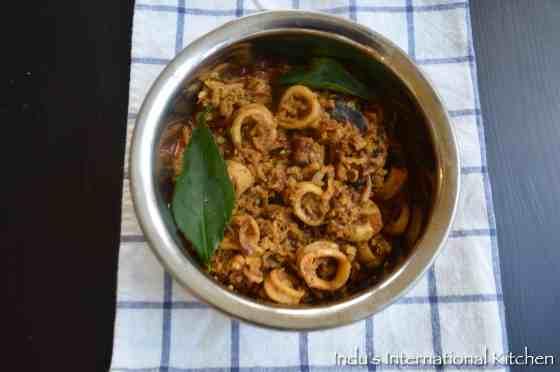 Kerala Style Squid