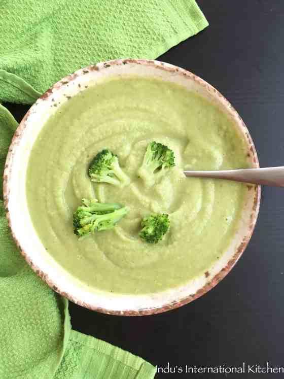 Broccoli Cheddar Soup - paleo
