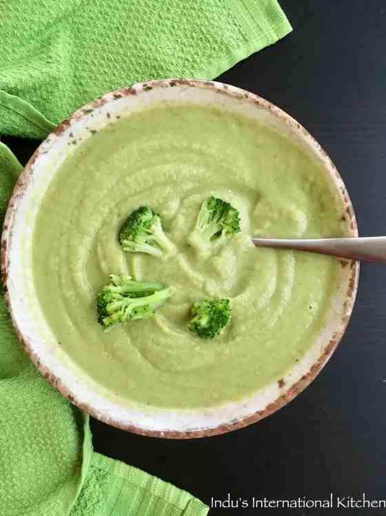 Paleo Creamy Broccoli Soup