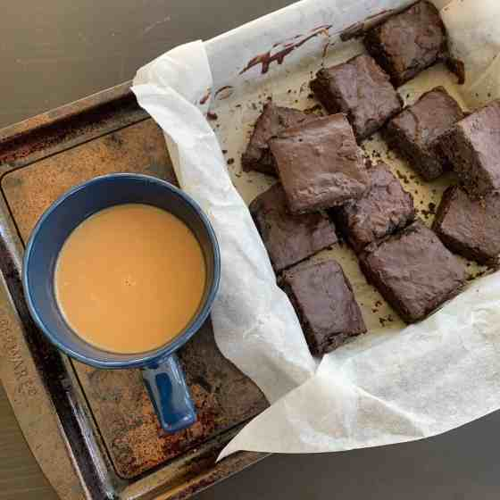 Sweet potato Brownies (paleo, AIP, vegan)