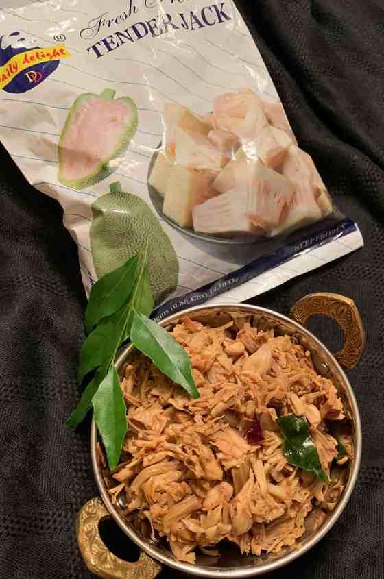 Indian style tender jackfruit stir fry (paleo, AIP, vegan)