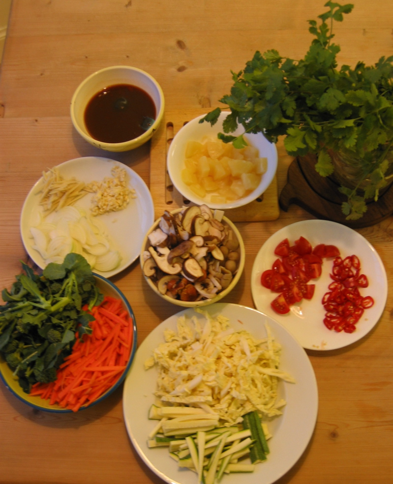 Sweet and Sour Ingredients