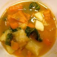 Zupa dyniowo-jarmużowa