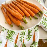 Młoda marchewka karmelizowana do obiadu