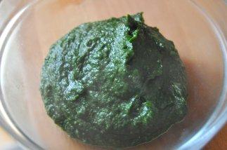 risotto pesto di spinaci e pomodorini secchi (2)
