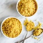 Turmeric Garlic Rice | cookandsavor.com