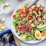 Club Grilled Chicken Salad - Finished