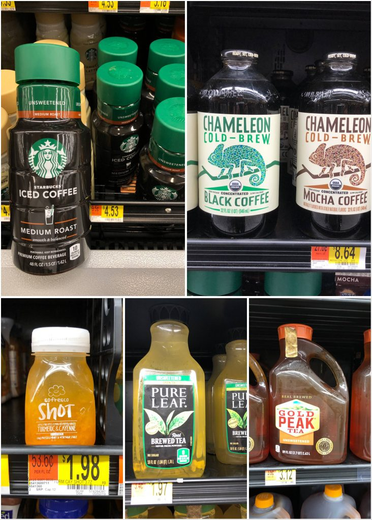 Whole30 Compliant Walmart Shopping Guide - Beverages