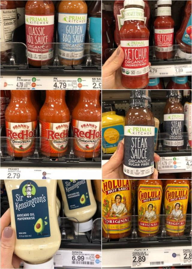 Whole30 condiments at Target