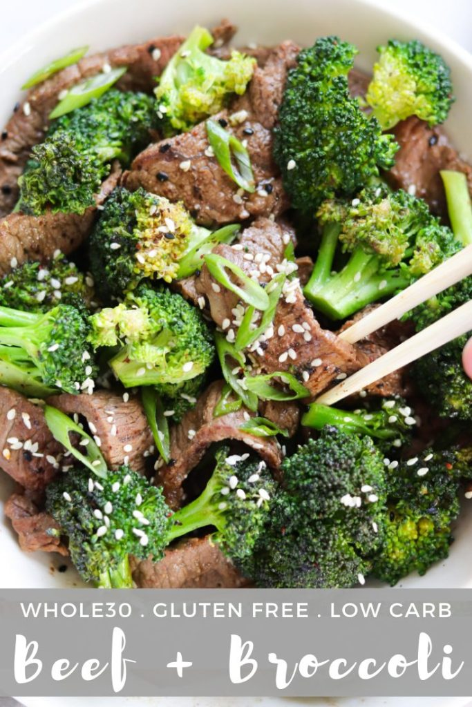 Finished Paleo, Whole30 Beef and Broccoli